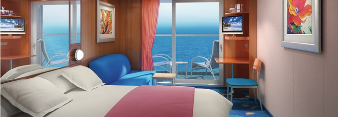Cruise Ship Balcony - Norwegian Gem