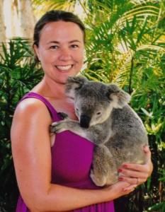 Me and my new koala friend!