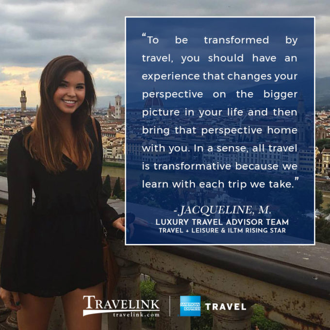 Jacqueline Morgan - Travelink, American Express Travel