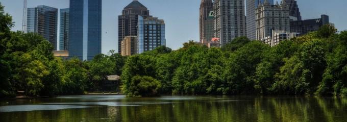 City Parks in the Southeast - Piedmont Park Atlanta