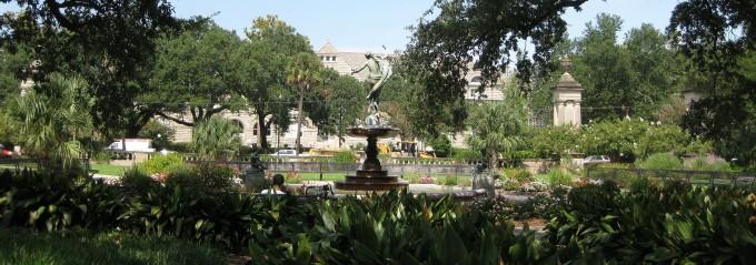 City Parks in the Southeast - Audubon Park New Orleans