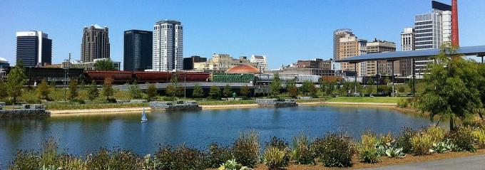 City Parks in the Southeast - Railroad Park Birmingham