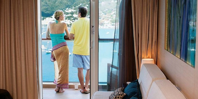 Cruise Ship Balcony - Norwegian Cruise Line