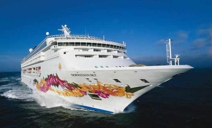 Cruise Ship Balcony - Norwegian Cruise Line Sky