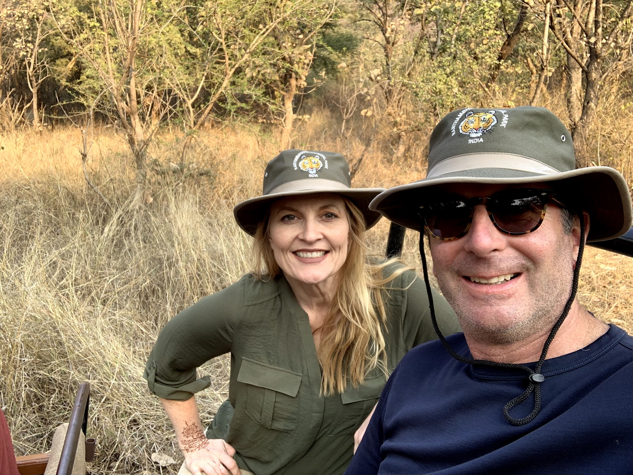 Sandy and Steve in Ranthambore