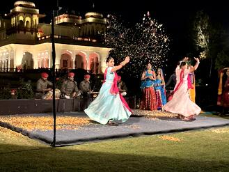 Taj Rambagh Palace Entertainment