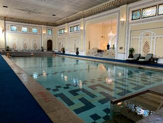 Taj Rambagh Palace Spa Pool